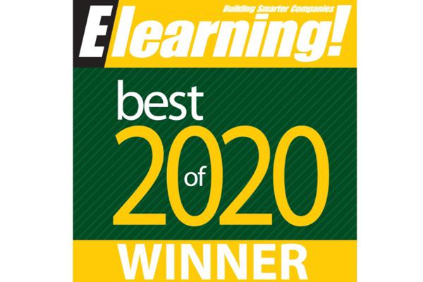 Vubiz Named Best Compliance eLearning Company 2020